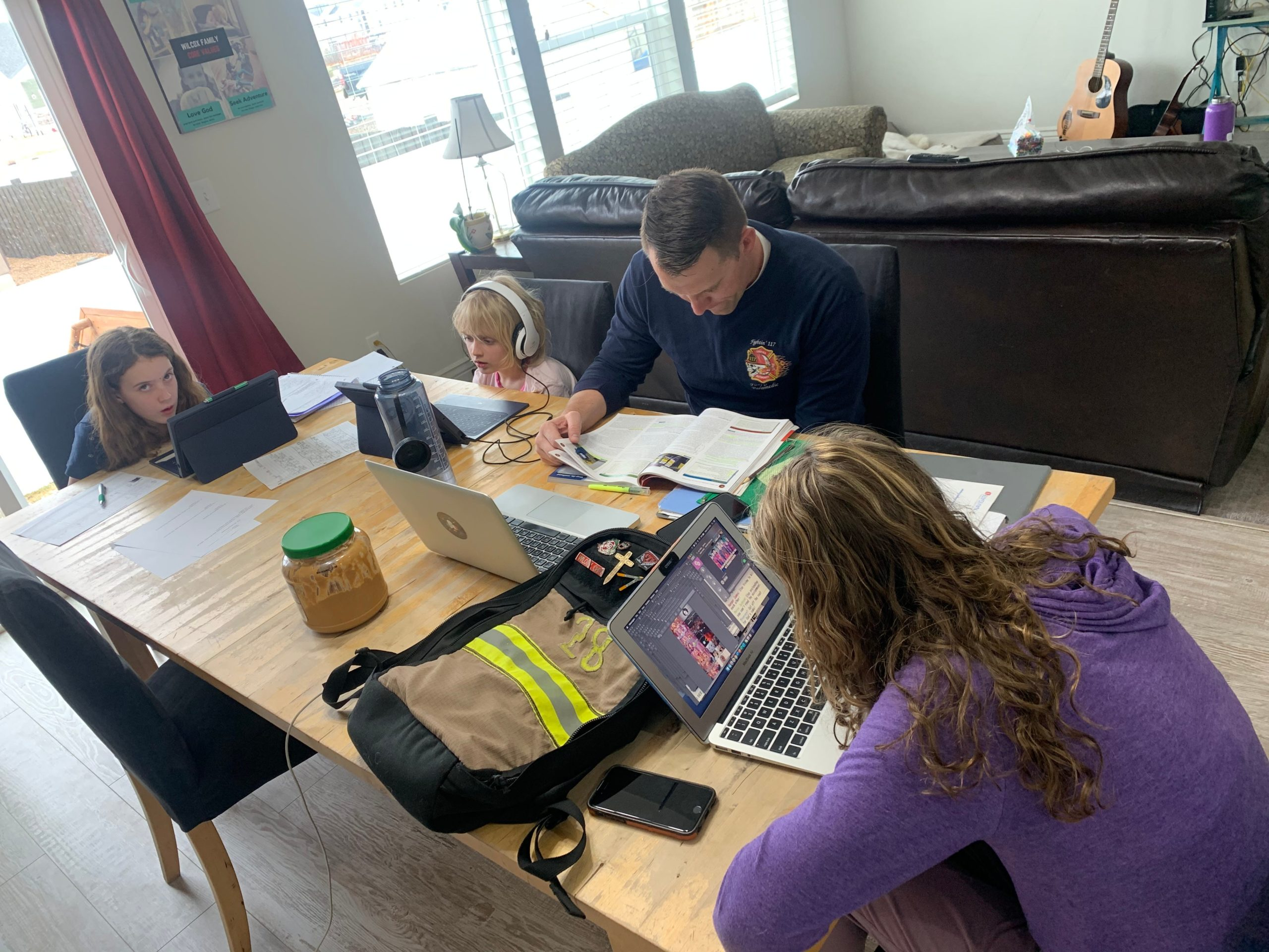 YouTube, Zoom and kids: Working at home in the coronavirus age
