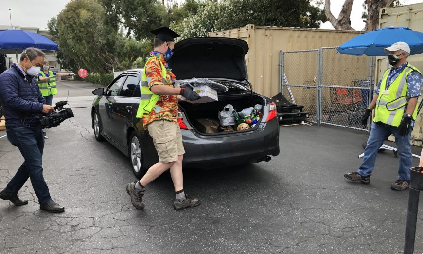 COVID-19 Alters Sunnyvale Community Services' Annual Backpack Distribution Day