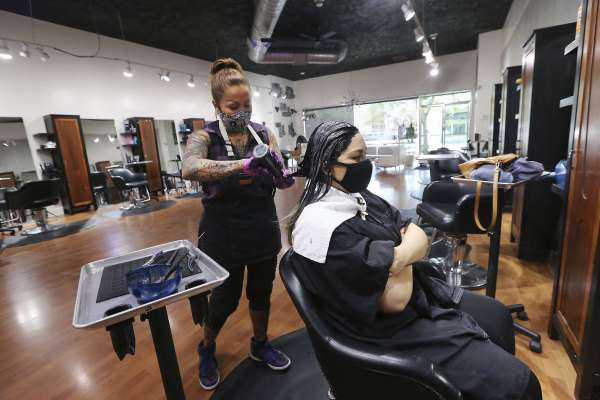 Santa Clara County pools, nail salons, barber shops among businesses to reopen Monday under strict guidelines