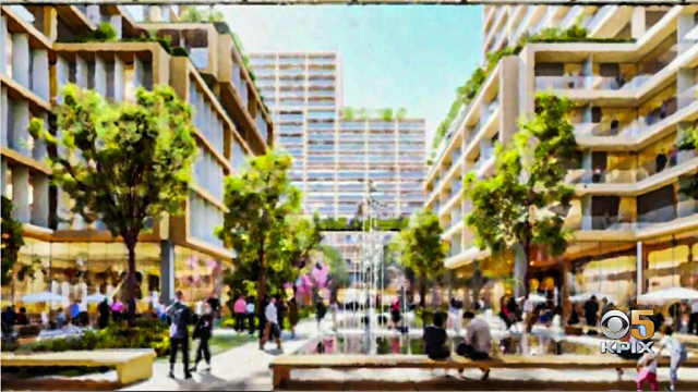Plans Unveiled for Development Around Future Downtown San Jose BART Station