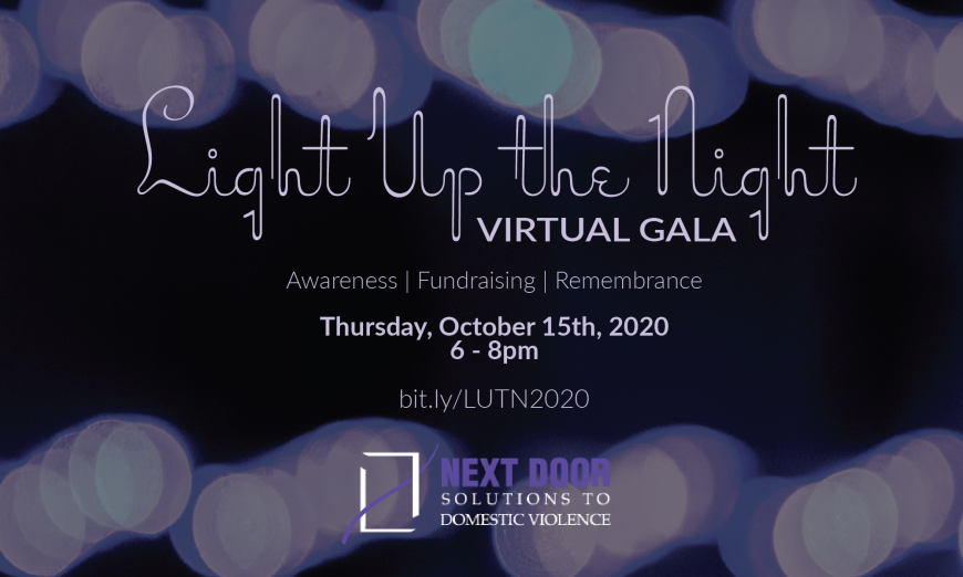 """Next Door Solutions To Host Virtual """"Light Up The Night"""" In Remembrance Of Victims As Part Of Domestic Violence Awareness Month"""