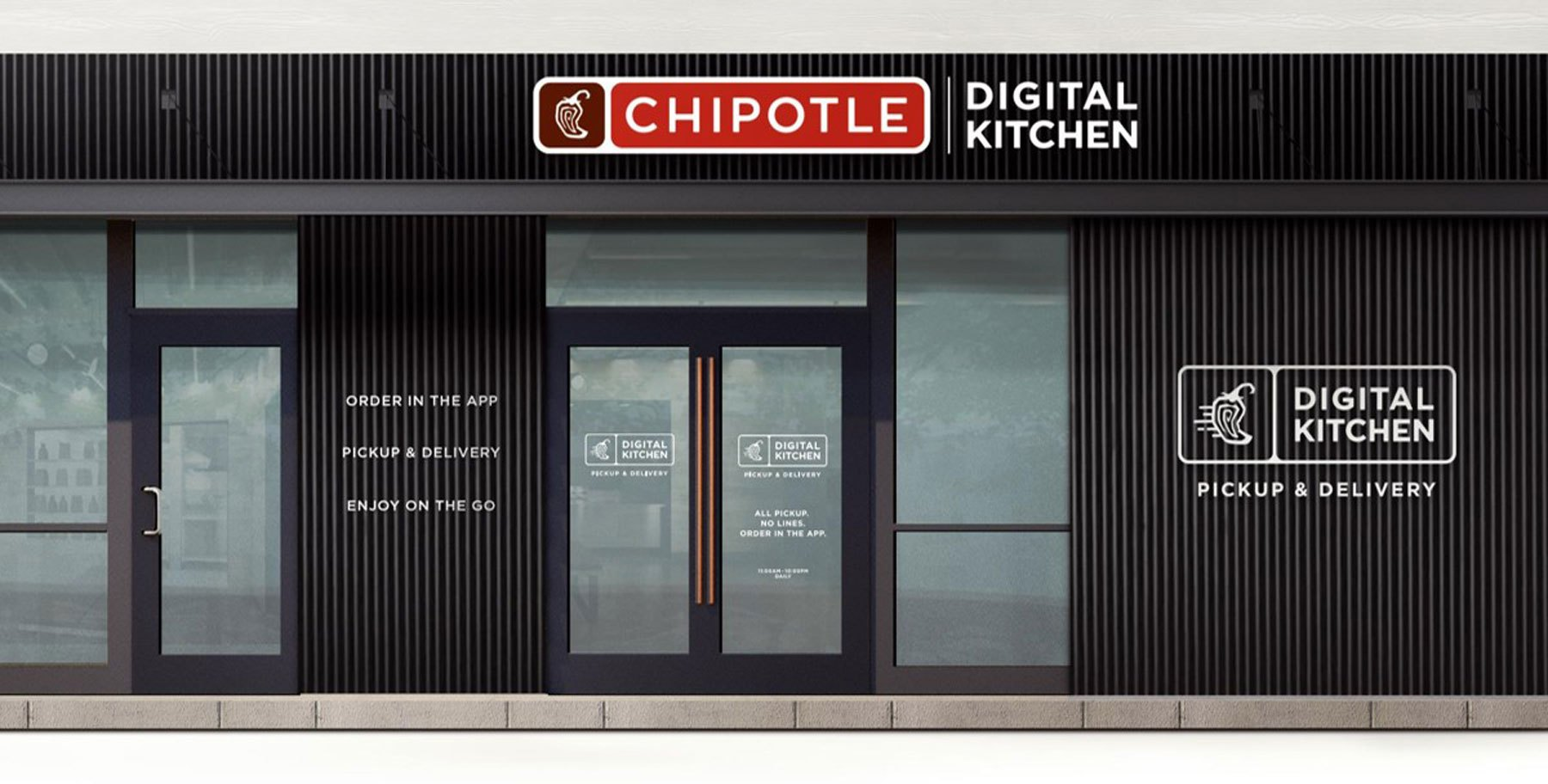 Chipotle doesn't want you to eat at its newest restaurant