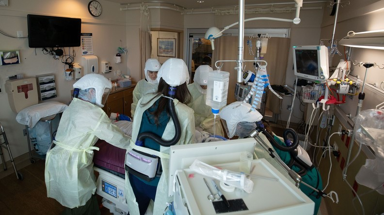 Bay Area ICU Bed Availability Jumps to Over 23%