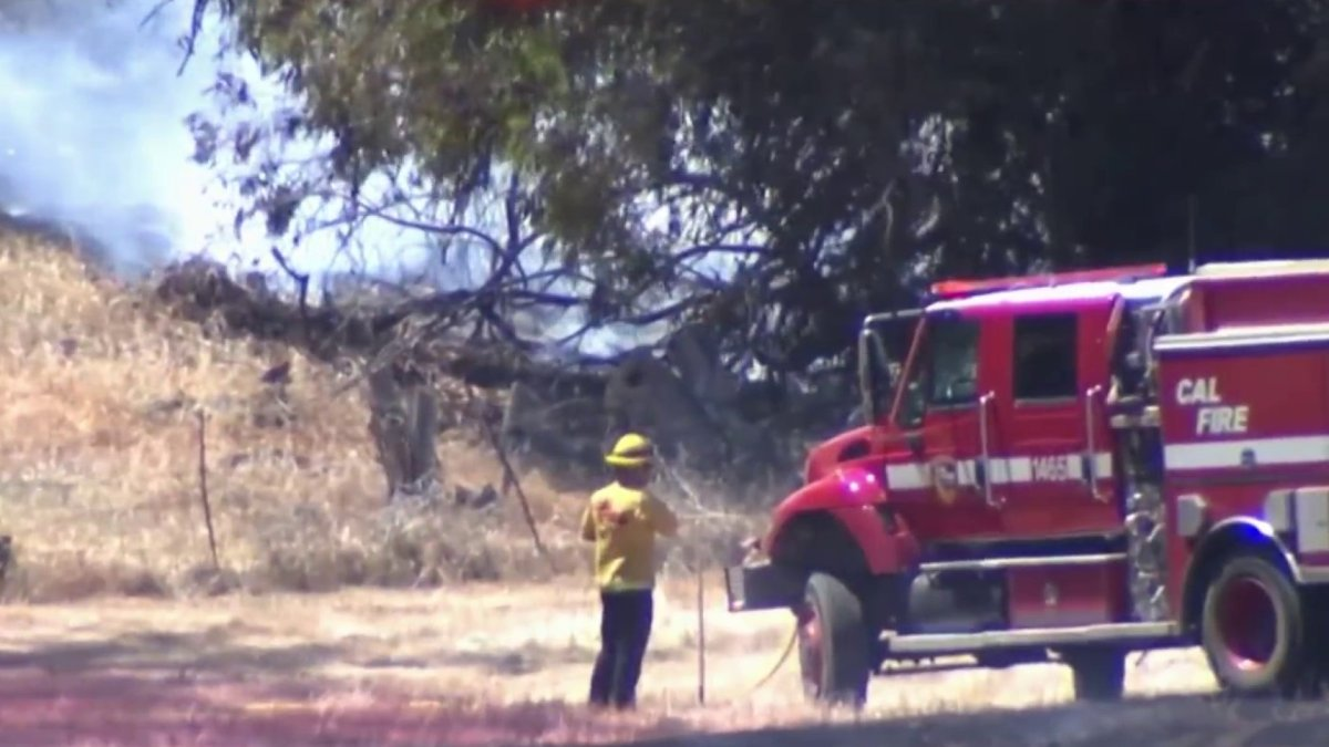 Wildfires Burn Around Northern California