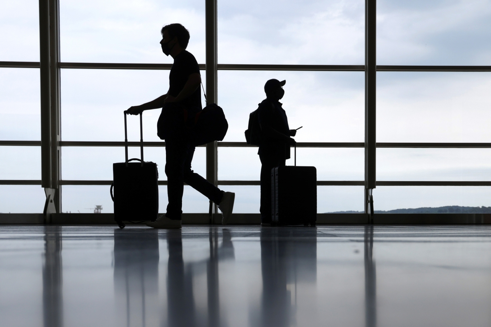 US to ease travel restrictions on fully vaccinated visitors from UK and European Union