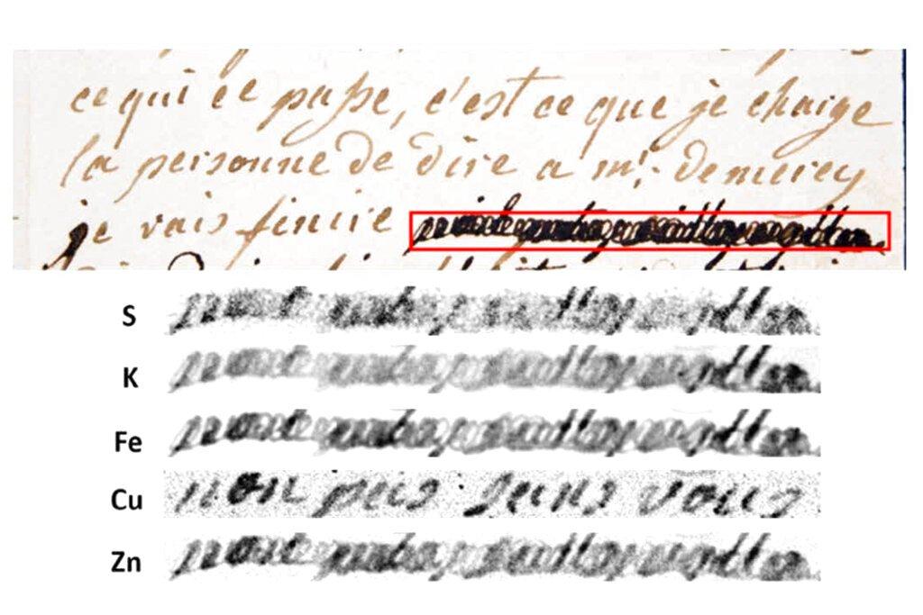 Scientists decipher Antoinette's redacted love notes