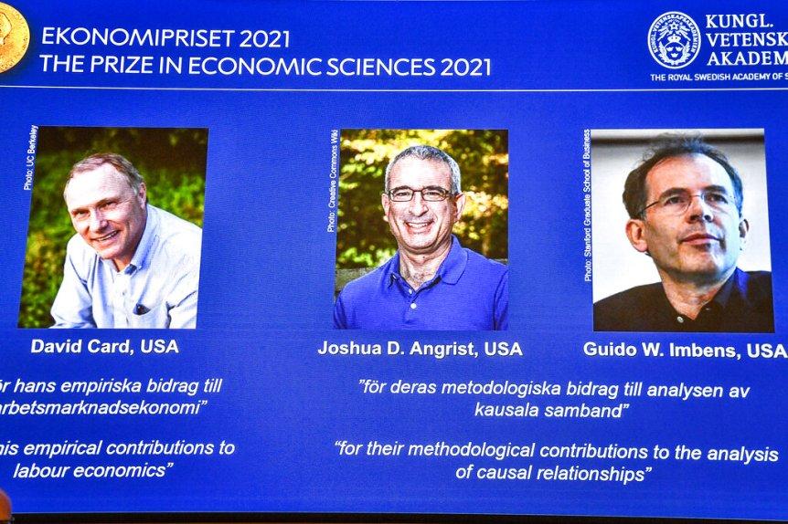 Nobel in economics to researchers from Stanford, UC Berkeley
