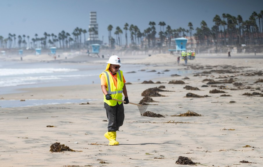 Southern California oil spill now being investigated by state Department of Justice